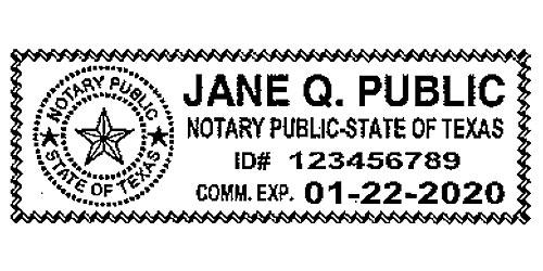 Texas State Notary Bureau