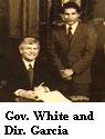 Gov. White & Dir. Garcia